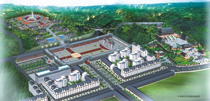 傅圣文化园规划图